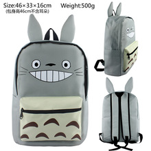 Tonari No Totoro Nylon backpacks daily use backpack gift for kids anime fans school bag totoro backpack ab244(China)