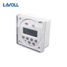 programmable timer switch temporizador interruptor programmable relay digital weekly timer with protective cover