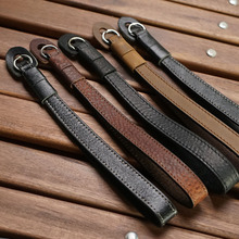 Mr.stone Handmade Genuine Leather Camera Wrist Strap For FUJJI Fujifilm X100F Leica Q Leica M Digital camera Strap