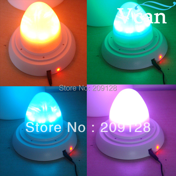 RGB 16 colors Changing Super Bright LED Lithium Battery Lamps For Wedding<br>