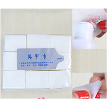 900PCS/bag Nail Polish Remover Manicure Tools Wet Wipes Lint-Free Wipes Cotton Napkins UV Gel  Remover