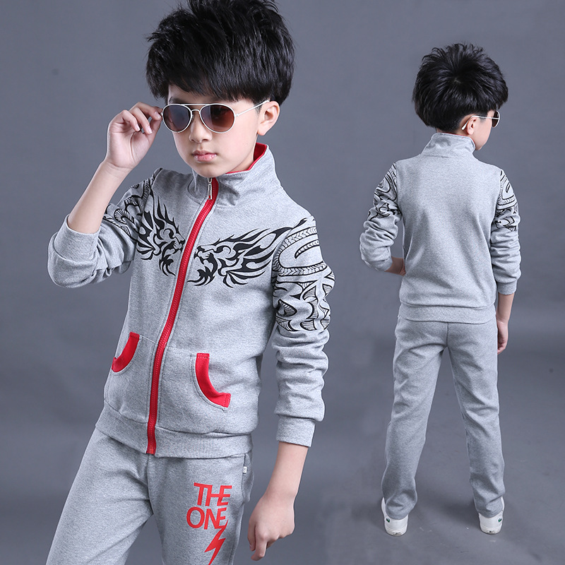 Fashion high quality kids fashion 2016 outfits clothing set for boys tracksuit brand<br><br>Aliexpress