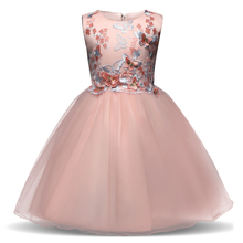 Formal Teenage Girls Party Dresses Brand Baby Girl Clothes Kids Girl Birthday Outfit Children Graduation Gowns Pageant Princess(China)