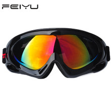 Winter snowboard goggles brand single big spherical lens Anti-UV Windproof motocross snowmobile SNOW ski glasses classic eyewear