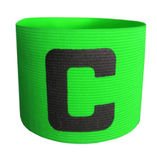 New Armband Football Basketball Soccer Sports C Words Flexible Adjustable Player Bands Badge Captain Armband 4 Color