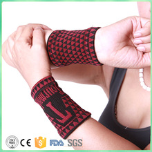New Carpal tourmaline Medical Wrist Support Brace Support Pads magnetic therapy wrist belt Sprain Forearm protector Safe