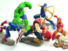American Captain toys/ The Avengers  toys/ iron man/ T he Incredible Hulk / toys for kids/ usa figure