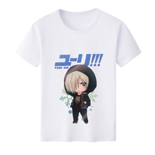 Buy 2018 Fashion T shirts Men Anime YURI!!! ICE Katsuki Yuri Plisetsky Victor T shirt O-Neck Printed Short Sleeve T-shirts for $7.44 in AliExpress store