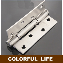 High quality ,Quiet hinge,304 Stainless steel positioning, springs buffering hinge, 90 degree , Hardware(China)