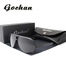 The new high - definition sunglasses fashion brand glasses UV400 polarized sunglasses driving sunglasses