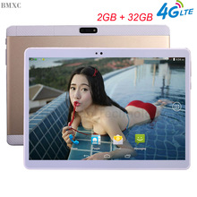 10.1 inch Brand Original 3G 4G Tablet PC Metal Tablets 3G Quad Core 1920*1200 HD children tablet Android 6.0 GPS WIFI PC Tablet(China)