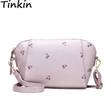 Tinkin New Arrival Summer Messenger Bag Candy Color Women Shoulder Bag Fashion Small Cross-body Bag Girls Bag