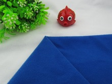9223# Blue Color Loop Fleece fabric can stick by Magic tape/DIY sewing Stuffed toys sofa material velboa velvet(1 meter)(China)