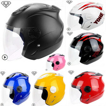 2015 New YOHE Summer half face mororcycle helmet ABS motorbike helmets YH-601 have 9 kinds colors size M L XL XXL