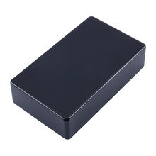 1Pcs New Plastic Electronic Project Box 100x60x25mm Black DIY Enclosure Instrument Case Electrical Supplies(China)