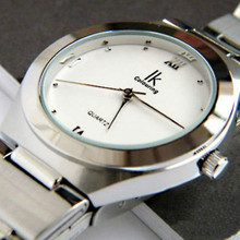 Quartz Watch Lovers Table Circle Women's Watch Commercial Men's Watch 98030g with Gift Box