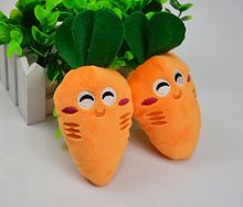 Buy 2017 New Dog Toys Pet Puppy Chew Squeaker Squeaky Plush Sound Cute Carrot Designs Pet Toys PT0047 12-14cm for $1.02 in AliExpress store