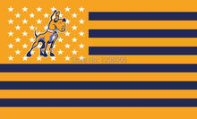 Albany Great Danes stars and blue stripes flag 3ftx5ft Banner 100D Polyester Flag metal Grommets