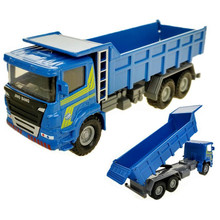 1:60 Dumper Truck Toy Diecast ABS Dumpers Model Trucks Alloy Engineering Vehicles Miniature Car Toys For Children Brinquedos