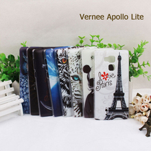 For Vernee Apollo Lite Colorful Plastic Case Back Cover With Drawings Printed in 8 Pattern for Vernee Apollo Lite Phone Case(China)