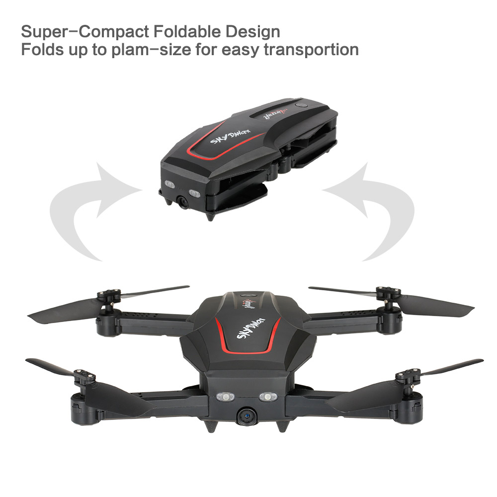 WL Tech Q626-B Wi-Fi FPV 720P RC Drone with Camera HD Selfie Drone Altitude Hold RC Quadcopter RTF Helicopter Dron Machine (10)