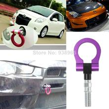 2014 New Purple Car Universal Racing Tow Hook Aluminum material tow hook hitch trailer coupling