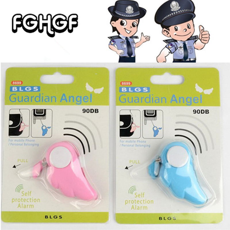 Hot Sale Protection Girl Women Anti-Attack Panic Safety Security Rape Alarm Mini Loud Self Defense Supplies Emergency Alarm