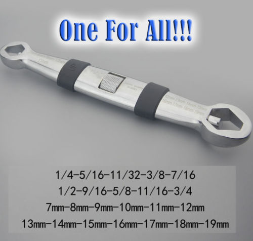 23 In 1 Multifunctional Flexible Type Wrench/7-19mm Adjustable Wrench<br><br>Aliexpress