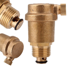 "1/2"" Brass Automatic Air Vent Valve High Qulity Automatic Air Vents for Solar Water Heater Pressure Relief Values"