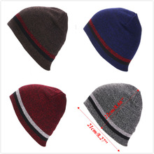Women Winter Skull Men Knit Beanie Reversible Baggy Crochet Cap Warm fashion Unisex Hat