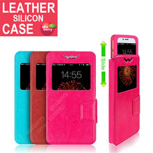 for Smartisan M1L M1 T2 U1 T1 Soft Rubber S ilicone Leather Case Cover Book Slider Frame Wallet