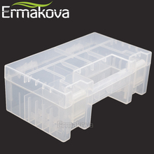 ERMAKOVA Hard Plastic Battery Case/Organizer/Holder/Container Battery Storage Box for AAA,AA,9V battery,Card Reader and SD Card(China)