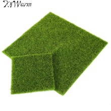Kiwarm Micro Moss Landscape Decoration DIY Mini Fairy Garden Simulation Plants Ornament Plant Home Office Garden DIY Accessory