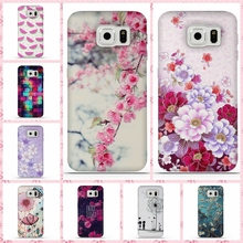 For Coque Samsung S6 Case 3D Relief Printing Silicone TPU Cover For Galaxy S6 Phone Case For Coque Samsung Galaxy S6 S 6 Bag