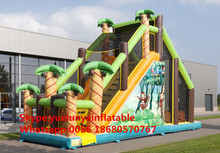 (China Guangzhou) manufacturers selling inflatable slides,Inflatable obstacles KY-715(China)