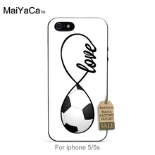 Colorful Cute Phone Accessories For iPhone 5 5s case  Football Design Custom