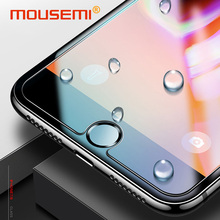 Buy MOUSEMI Tempered Glass iPhone X 7 8 6s Plus Glass Protection Cover Screen Protector, Protective Glass iPhone se 6 5s 7 4 for $1.01 in AliExpress store