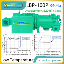 100HP LBP screw compressor can be installed in large cooling capacity cryogenic units to get Liquefied natural gas (LNG)(China)