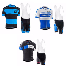 Maillot  cullot summer short sleeve jersey cycling wear  bib shorts team mult-color  sport clothes spain bicycle wear