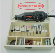 New Electric new grinder Tools + 100 pc kit, Mini die grinding tools, factory price,