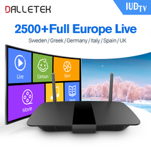 Buy Iptv Europe TV BOX Android 6.0 1G/8G Smart Quad Core 2500 Channels IUDTV Subscription IPTV Sweden Italy Spain Arabic IPTV Box for $82.50 in AliExpress store