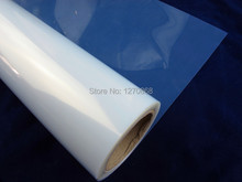 "12""*30m Transparent Clear Inkjet Film for Positive Screen Printing Waterproof, PET film"