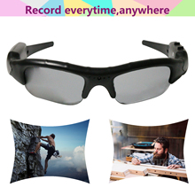 New Arrival Hot Sale Digital Audio Video Mini Camera DVR DV Camo Sunglasses Sport Camcorder Recorder Cam For Driving Outdoor 30P(China)