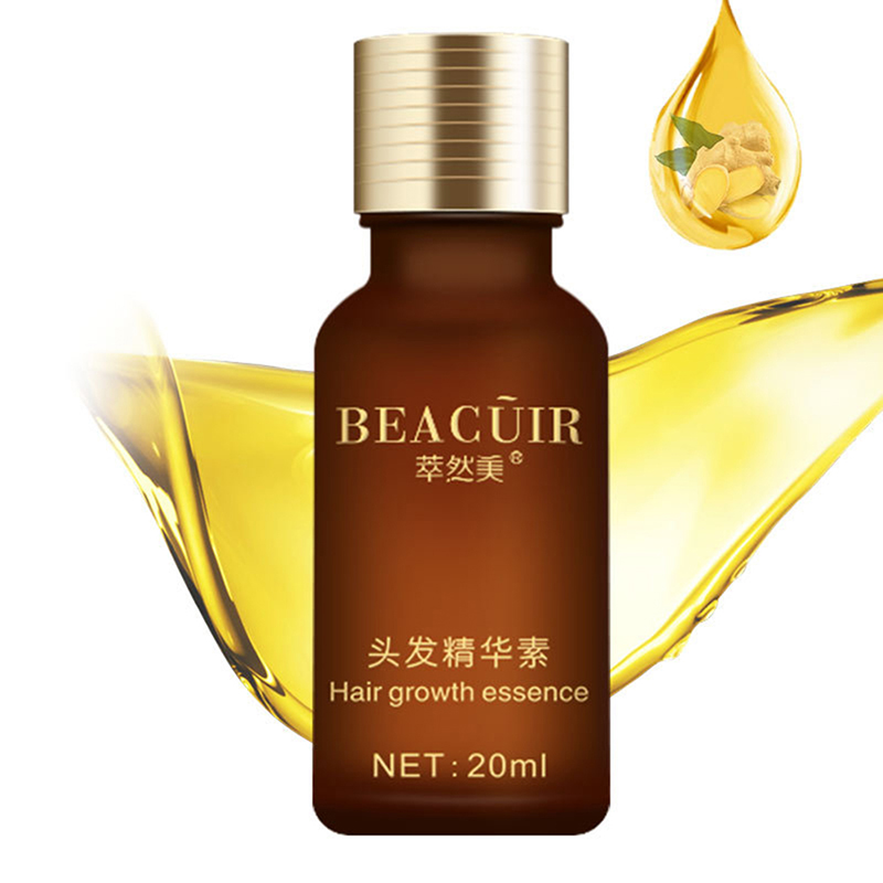Natural Damage Repairing Ginger Hair Loss Products Hair Growth Hair Care Oil Beauty Women Products 5