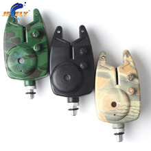 Free shipping fishing bite alarm JY-4(dark green camo or leaf camo or black) 2pcs/parcel for fishing swinger(China)