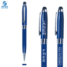 Multi functional pen promotional items with free logo laser engraved for company brand or name print(China)
