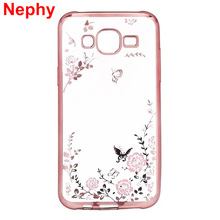 Case For Samsung Galaxy J2 Prime SM-G532F SM-G532M Cell Phone Cover TPU Silicon Cute Housing Ultra thin Crystal Glitter Casing