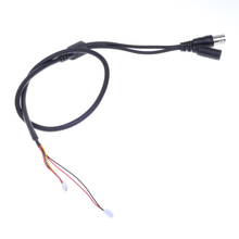 5-Pin Open End Cable to 1 BNC Female Connector with 12V DC Input BNC power and video for CCTV camera(China)