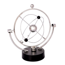 Kinetic Orbital Electromagnetic Pendulum Perpetual Instrument Model Office Decoration Magnetic Sculptures desk art sculpture