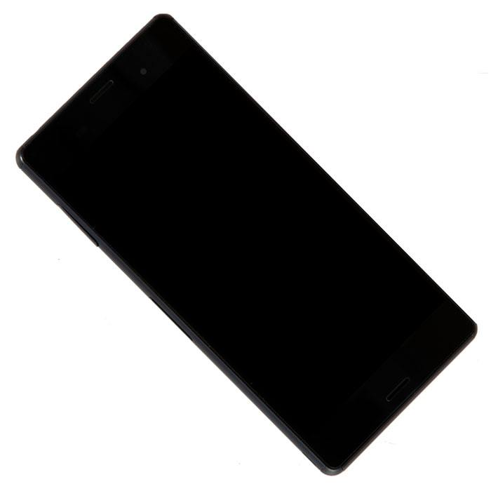 display assembly with touchscreen and front panel for Sony for Xperia Z3 D6603, black<br><br>Aliexpress